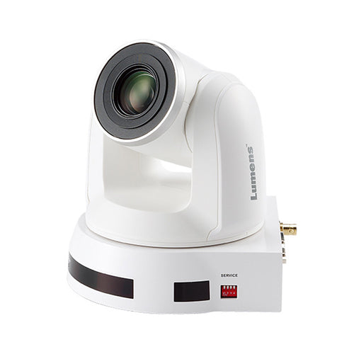 Lumens PTZ Cameras VC-A70HW 10x Optical Zoom 4k HDBaseT PTZ Camera - White