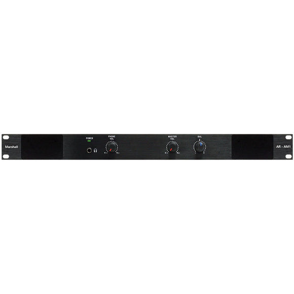 Marshall AR-AM1 Rack Mountable 1 Channel Analog Audio Monitor
