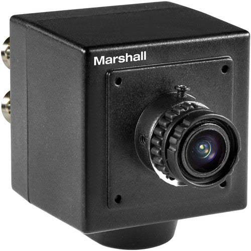 Marshall CV502-MB 2.5MP 3G-SDI Compact Broadcast Compatible Camera with 3.7mm Lens