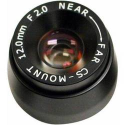 Marshall V-4704.0-2MP-VIS-IR 4.0mm F2.0 HD M12 Mount for CV502/CV505/CV565/CV225 cameras