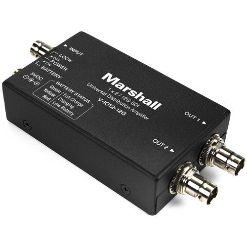 Marshall V-IO12-12G 1x2 12G distribution amplifier