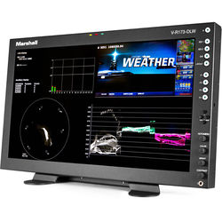 "Marshall V-R173-DLW-DT 17.3"" Desktop Mount Dual Link/Waveform Monitor with In-Monitor Display"