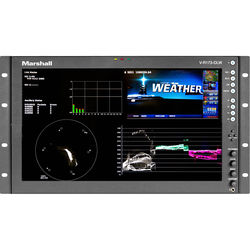 "Marshall V-R173-DLW 17.3"" Rackmount Dual Link/Waveform Monitor with In-Monitor Display"