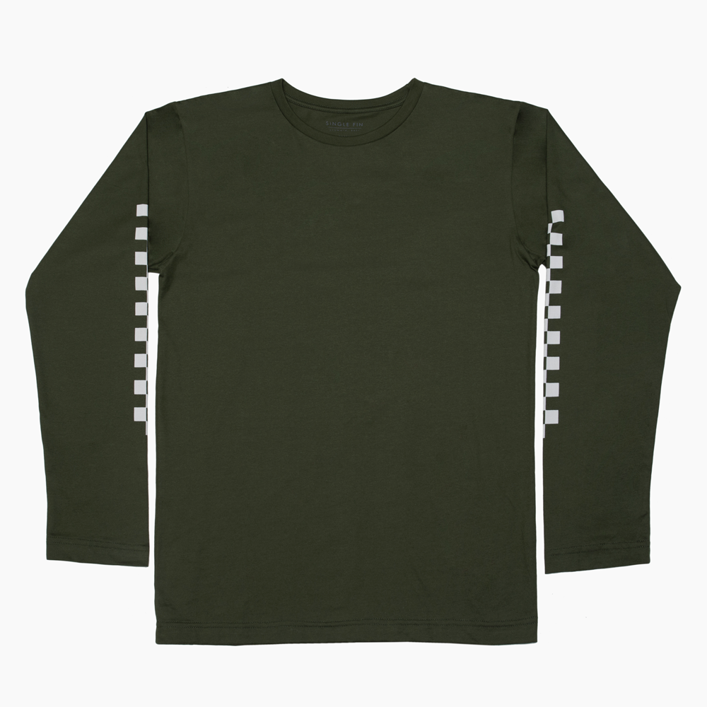 Palm Checks longsleeve