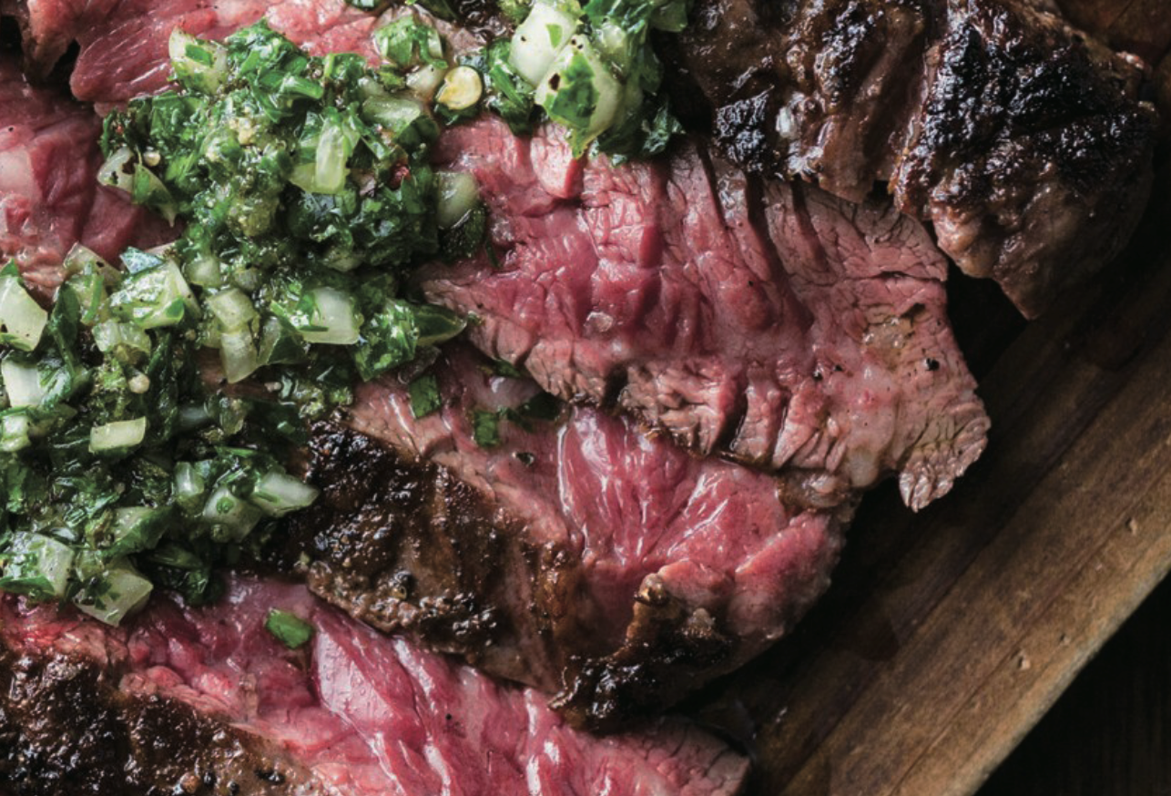 Digital Air Fryer - Chimichurri Skirt Steak