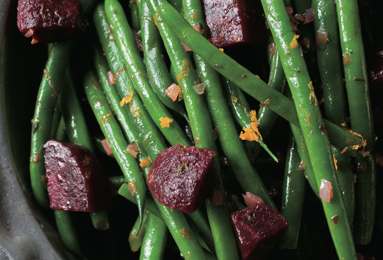 Digital Air Fryer - Citrus Green Beans