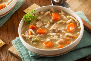 Pressure Cooker - Classic Chicken and Vegetable Soup
