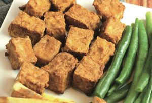 Digital Air Fryer - Crispy Tofu