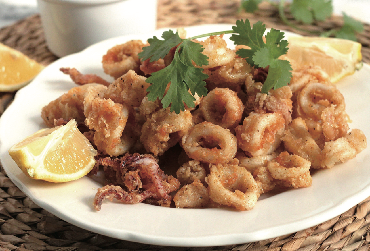 Digital Air Fryer - Curry Calamari