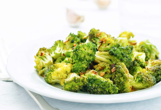 Pressure Cooker - Garlic Broccoli