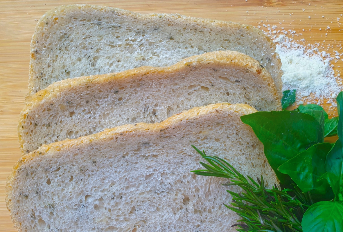 July Recipe of the Month - Herbed Parmesan Bread