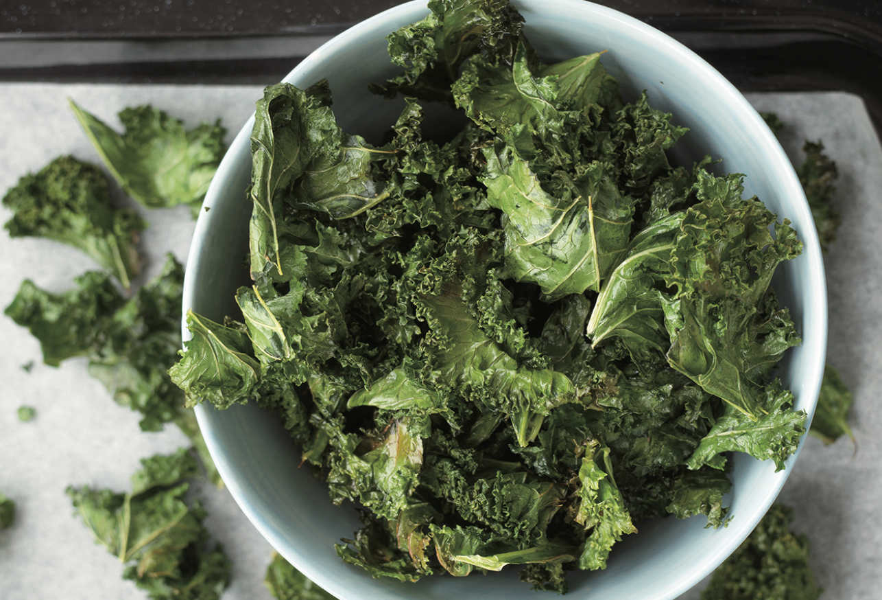 Digital Air Fryer - Kale Chips