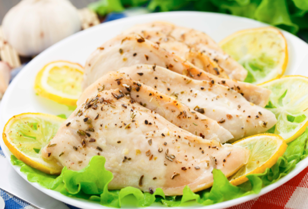 Pressure Cooker - Lemon Garlic Chicken