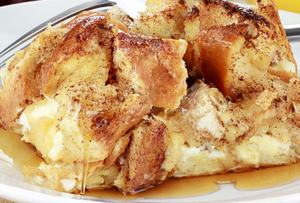 Pressure Cooker - Pumpkin French Toast Casserole