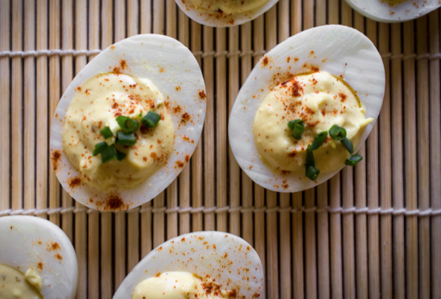 Pressure Cooker - Quick Deviled Eggs