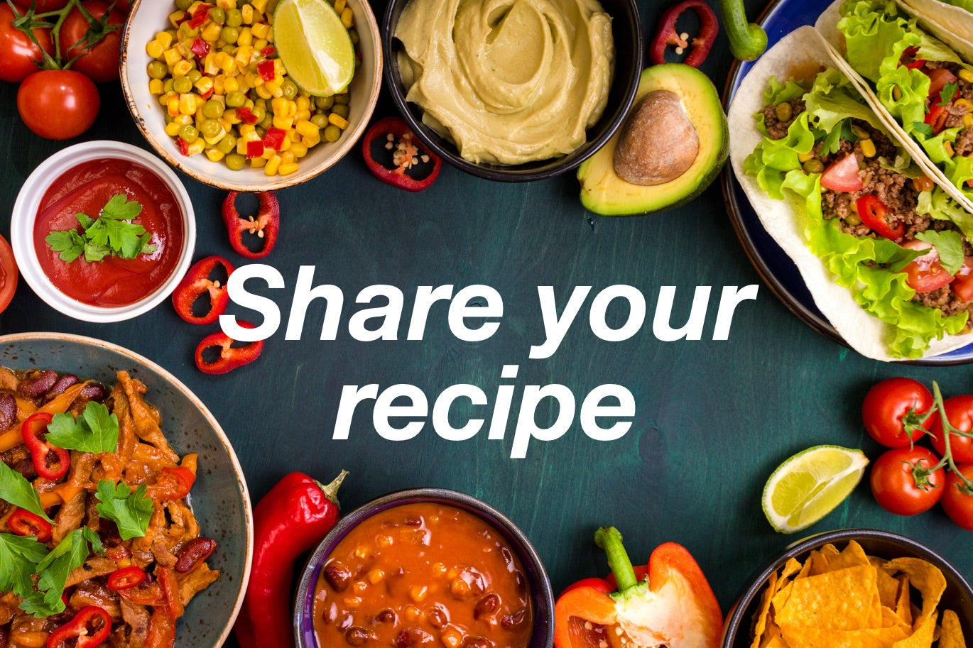 Share your Recipe