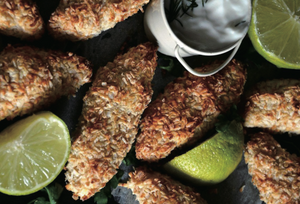 Digital Air Fryer - Tortilla Crusted Tilapia