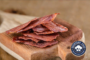 Dehydrated Beef Jerky Chips