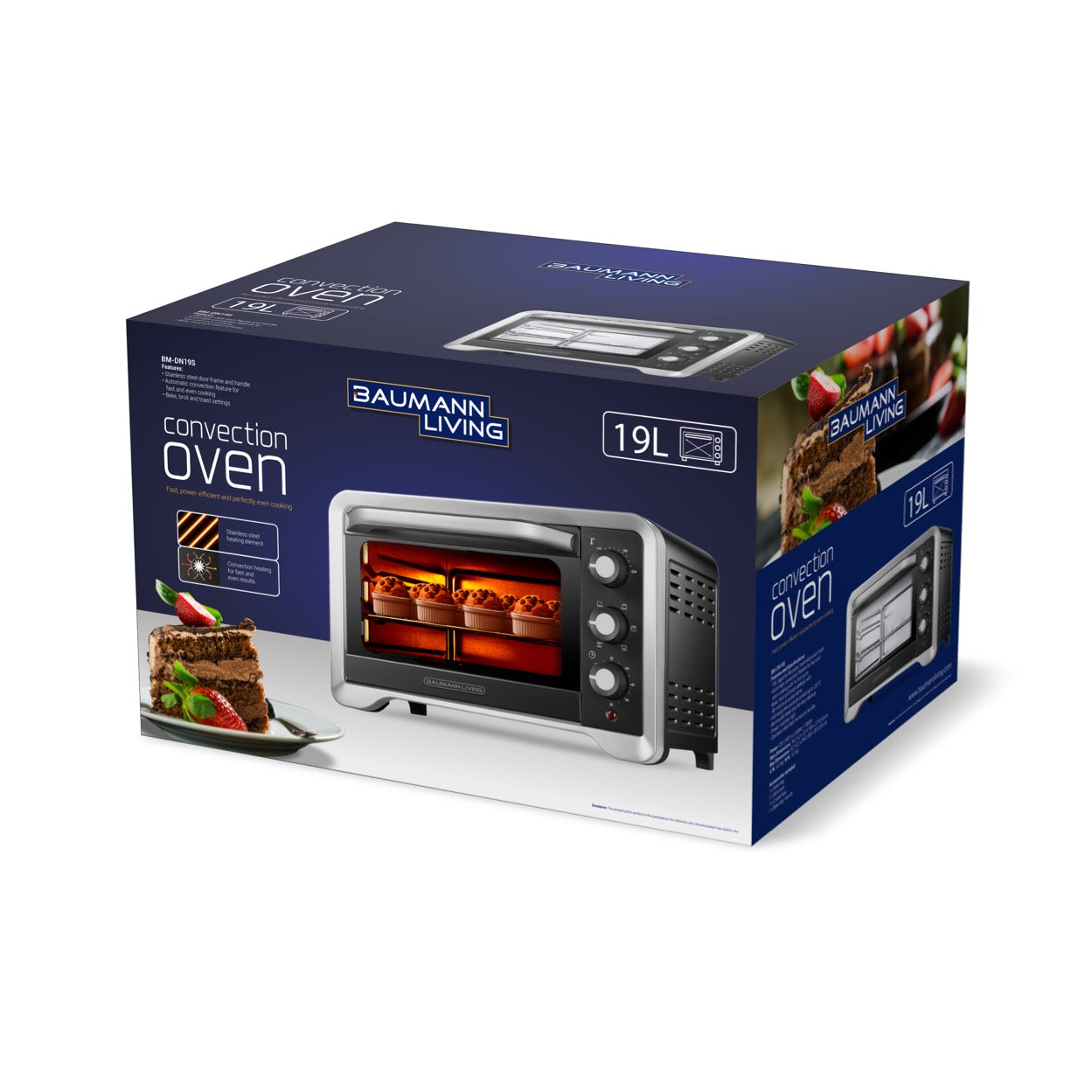 19L Convection Oven (2021 model)