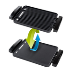 2-in-1 Reversible Grill + Griddle
