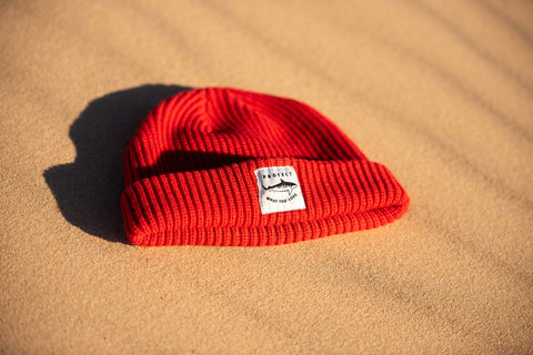 Tiger Shark Beanie - Red