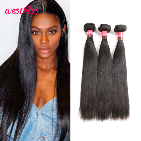 Peruvian Straight Virgin Hair 3 Bundles 8A Grade 10 to 30 inches Mixed  Length 3pcs Sale fb3f478133be