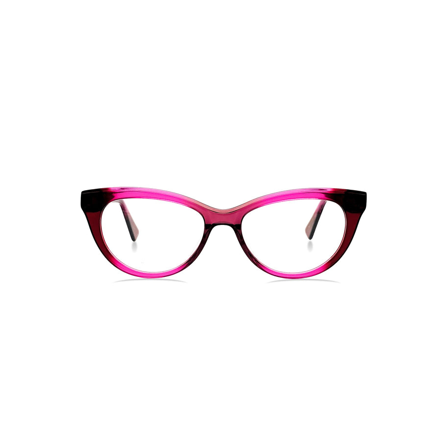 Ines / Crimson Red C2: Ultra-Fine Acetate