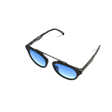 HANLEN No.FT0361 52/C82 BLUE GRADIENT LENS : LUXE EDITION SUN