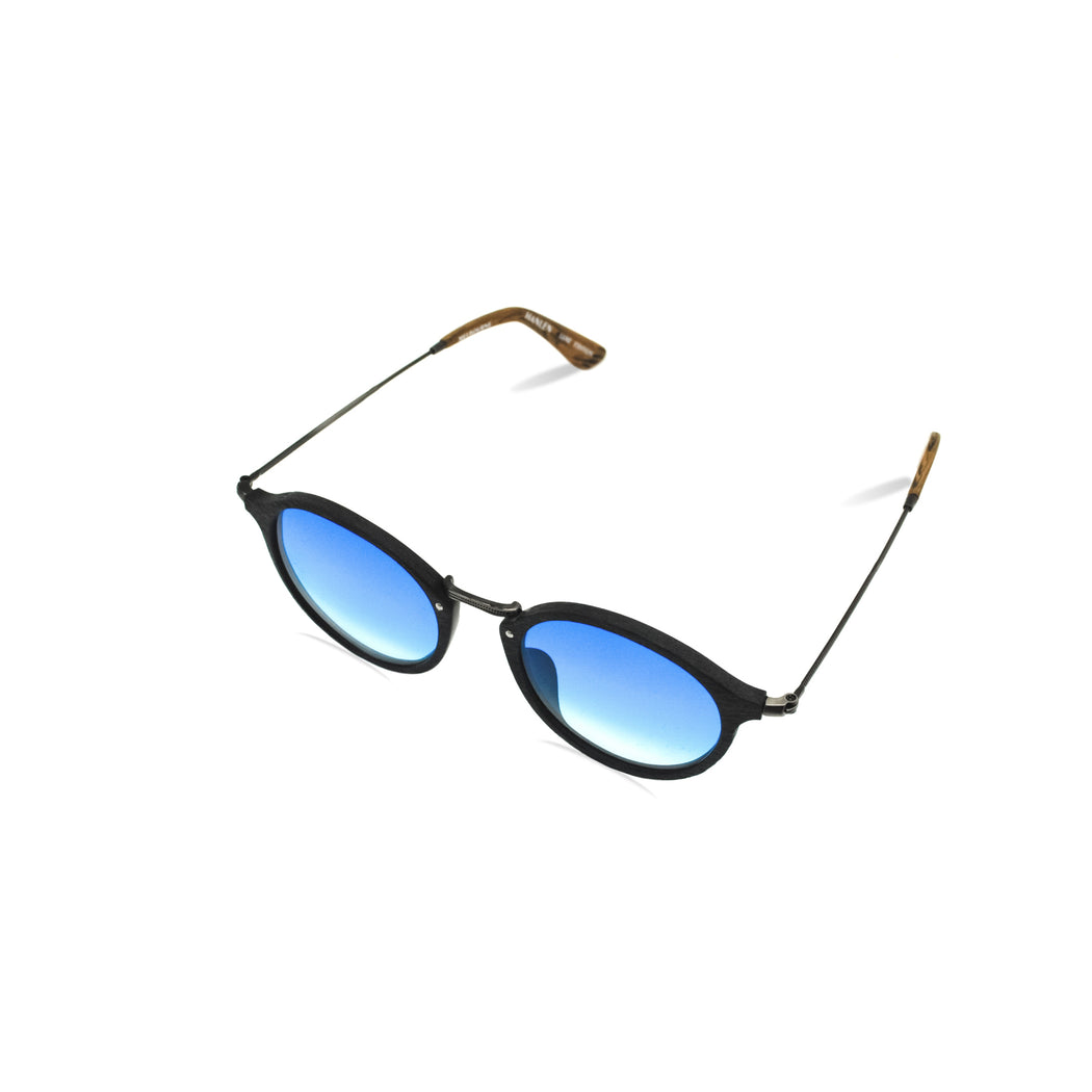 HANLEN No.RB2447 48/C86 BLUE GRADIENT LENS : LUXE EDITION SUN