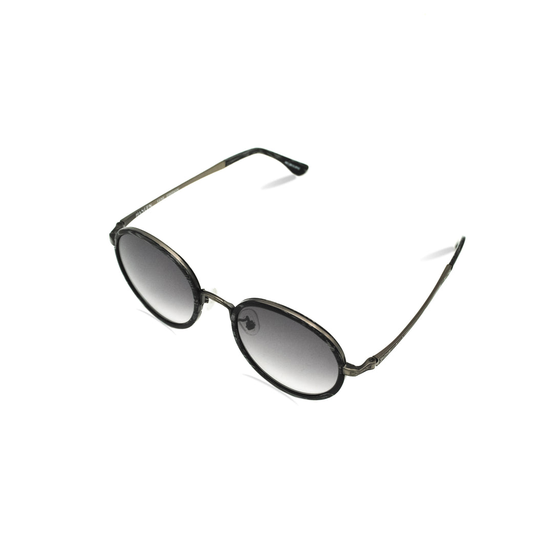 HANLEN No.L008 51/A5 Black Gradient Lens: LUXE EDITION SUN