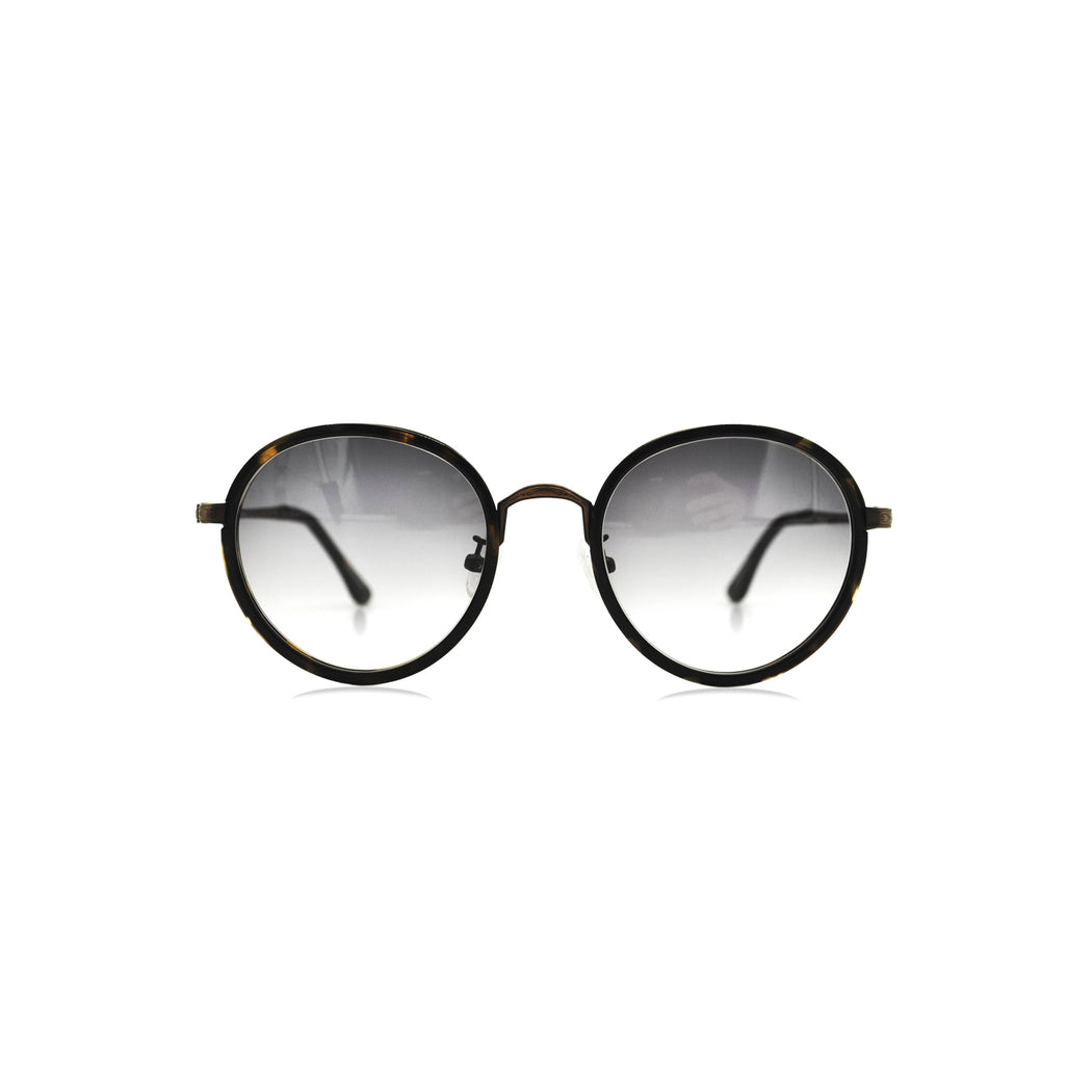 HANLEN No.L008 51/A3 Black Gradient Lens : LUXE EDITION SUN