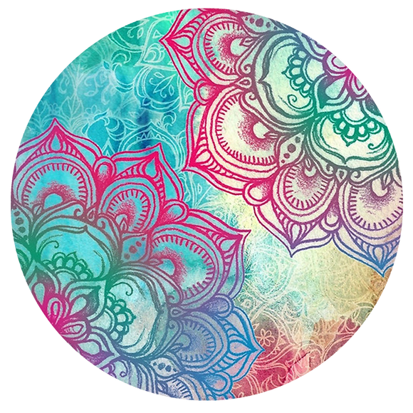 Mandala Pop-Grip: Rainbow Pop-Grip