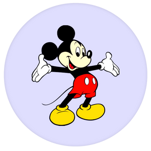 Disney Pop-Grip: Mickey Pop-Grip Purple
