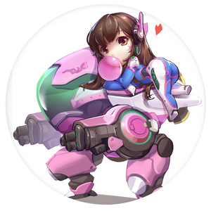 Overwatch Pop-Grip: Chibi Cute Overwatch Pop-Grip