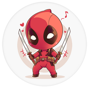 Deadpool Pop-Grip: Deadpool Two Swords Pop-Grip