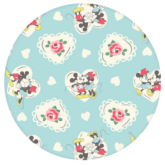 Disney Pop-Grip: Mickey Minnie Pop-Grip Pattern Blue