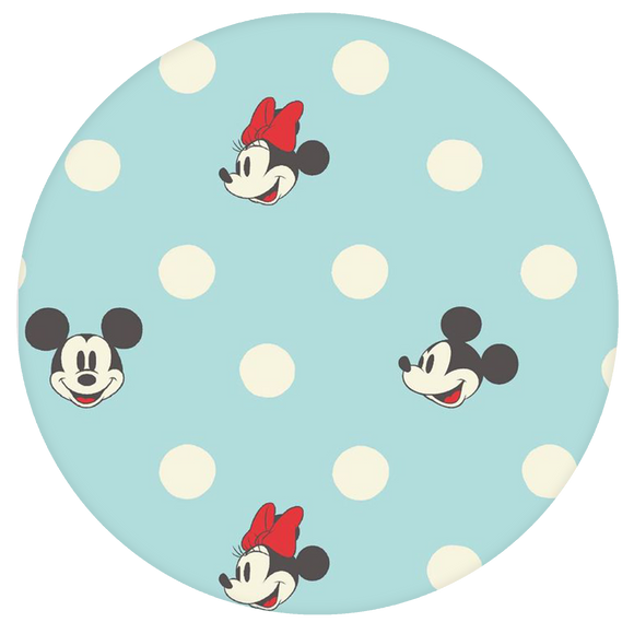Disney Pop-Grip: Mickey Pop-Grip Cyan Mickey and Minnie