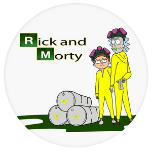 Rick and Morty Pop-Grip: Breaking bad Pop-Grip
