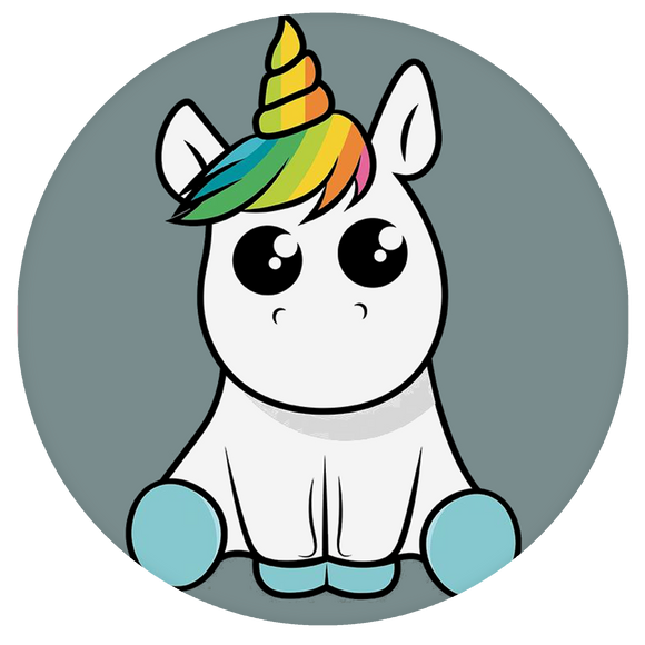 Unicorn Pop-Grip: Sit Cute Unicorn Pop-Grip