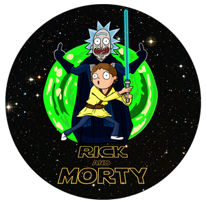Rick and Morty Pop-Grip: Rick in Star wars Pop-Grip