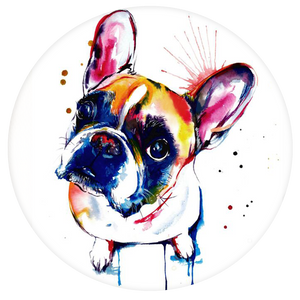 Dogs Pop-Grip: French Bulldog dog Pop-Grip