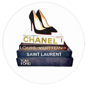 Chanel Pop-Grip: Chanel Book Watercolor Pop-Grip