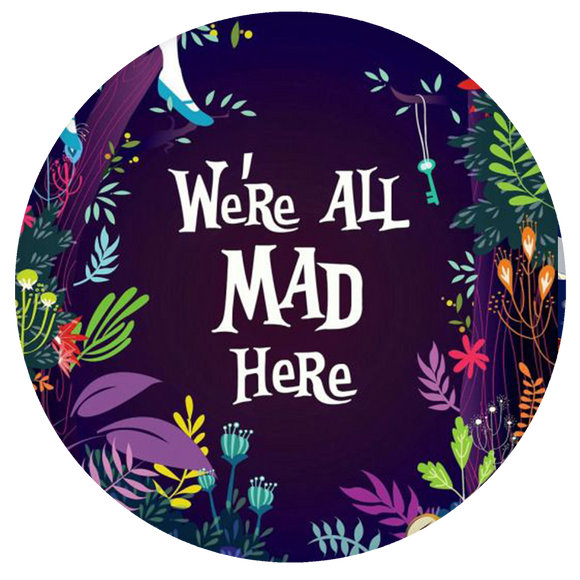 Disney Pop-Grip: We are All Mad Alice in the Wonderland Pop-Grip