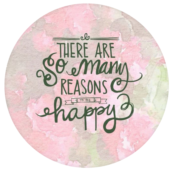 Quote Pop-Grip: Reason to be Happy Pop-Grip