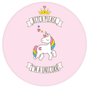 Unicorn Pop-Grip: I'm a Cute Unicorn Pop-Grip