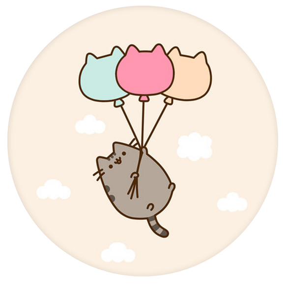 Cat Pop-Grip: Balloon Cat Pop-Grip