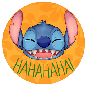 Disney Pop-Grip: Stitch Pop-Grip Laughing