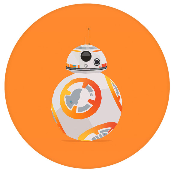 Star wars Pop-Grip: Orange BB-8 Pop-Grip