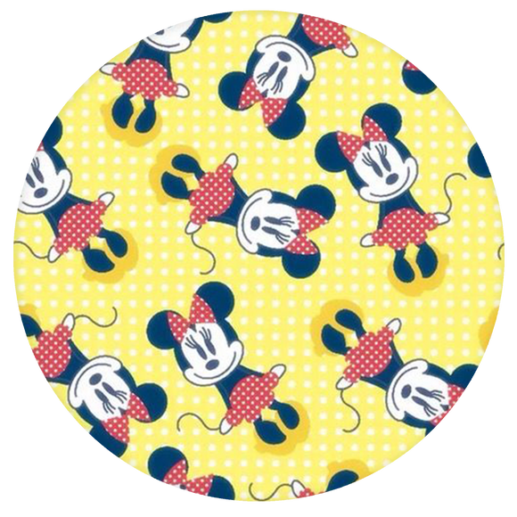 Disney Pop-Grip: Minnie Pop-Grip Yellow