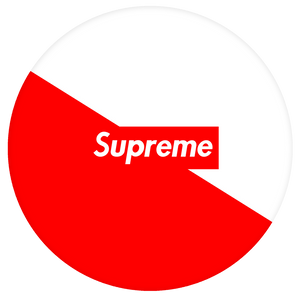 Supreme Pop-Grip: Supreme Pop-Grip Red and White